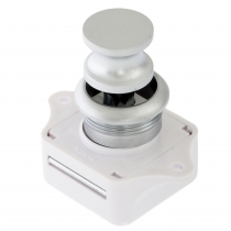 Push Button Cabinet Latch - Satin