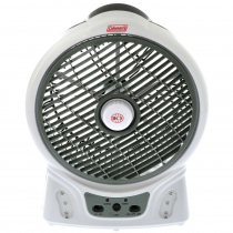 Coleman Rechargeable Fan with LED Light 8in