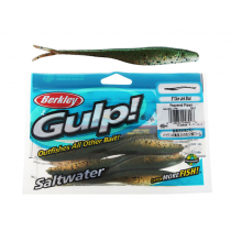 Berkley Gulp Jerk Shad Soft Bait 13cm Peppered Prawn