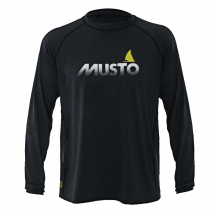 Musto Insignia Fast Dry Rash Top Black Size XL