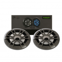 """Fusion EL Series 6.5"""" Shallow Mount Speakers Sport LED"""