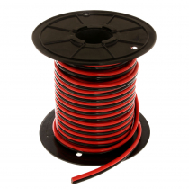 Flexible Twin Core Marine Cable 25mm x 1m Red/Black