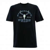 Ridgeline Mens Ridgeline Stag T-Shirt Black