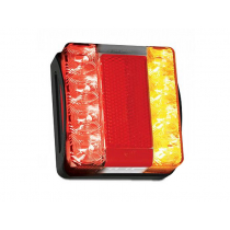 Hella Marine Square Compact LED Submersible Trailer Light