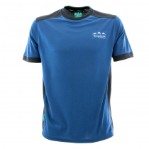 Ridgeline Mens Breeze T-Shirt Navy/Black