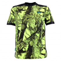 Ridgeline Mens Breeze T-Shirt Yellow Camo