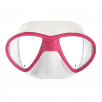 Mares X-Free Adult Dive Mask Pink/White
