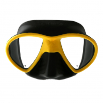 Mares X-Free Adult Dive Mask Yellow/Black