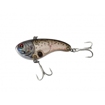 Sebile Flatt Shad Vibrating Crankbait Lure 77mm Blood Red Dark