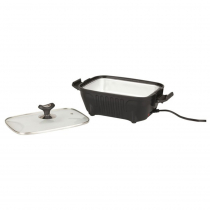 Rovin Portable Lunch Stove with Glass Lid 12V