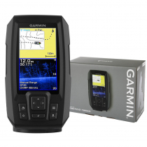 Garmin STRIKER Plus 4cv CHIRP ClearVu Fishfinder with GPS and GT20-TM Transducer