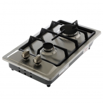 Challenger Domino Double Burner Gas Hob