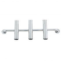 Stainless Steel Rod Holder - Holds 3 Rods