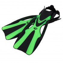 Sea Harvester Dive Fin F30 Open Heel Green S/M