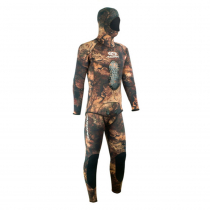 Aropec Mens Open Cell Copper Brown Spearfishing Wetsuit 3mm 2pc