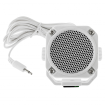 GME SPK45 Water Resistant Extension Speaker White
