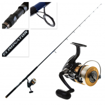 Daiwa Sweepfire 5000 2B and Eliminator 701HS Boat Spin Combo 7ft 10-15kg 1pc