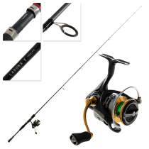 Daiwa Exceler LT 2500 and Laguna X 702LFS Freshwater Spin Combo 7ft 3-5kg 2pc