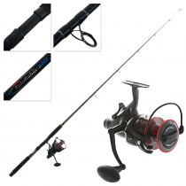 PENN Fierce II 8000LL Live Liner and Spinfisher SSM Boat Spin Combo 7ft 10-15kg 1pc
