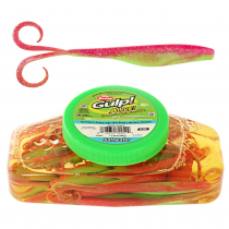Berkley Gulp Alive Crazy Legs Jerk Shad Soft Bait Tub 13cm