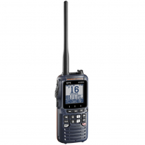 Standard Horizon HX890 Class H Floating DSC Handheld VHF/GPS Radio Navy Blue