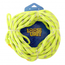 Loose Unit Foam Core 2-Rider Tube Tow Rope 60ft