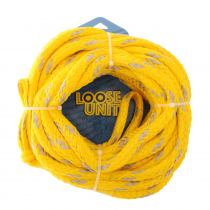 Loose Unit Foam Core 4-Rider Tube Tow Rope 61ft
