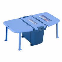 Challenger Chilly Bin Cooler with Side Table and Utensils