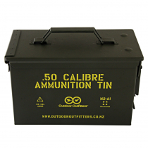 Outdoor Outfitters 50Cal Ammunition Tin No Latch X1
