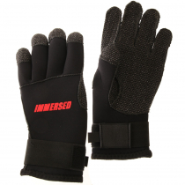 Immersed 3mm Kevlar Palm/Finger Dive Gloves S
