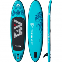 Aqua Marina Vapor All-Around Inflatable Stand Up Paddle Board 9ft 10in