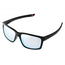 Oakley Mainlink XL Polished Black PRIZM Deep Water Polarised Sunglasses