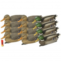 Outdoor Outfitters Mallard Decoy 4 Drakes 8 Hens 16in