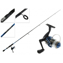 Shakespeare Reverb Boat Spinning Combo with Line 5ft 6in Blue