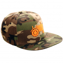 Tractor Camouflage Flat Bill Cap