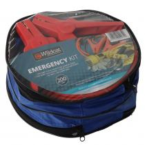 Wildcat Emergency Roadside Kit with Jumper Leads