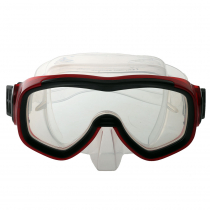 Hydro-Pro XR-20 Adult Dive Mask Red