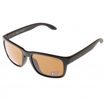 Dirty Dog Electrode Polarised Sunglasses Brown with Satin Black Frame