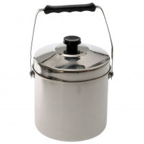 Campmaster Stainless Steel Billy Pot 2L