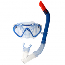 Hydro-Swim Clear Sea Youth Mask and Snorkel Set Blue