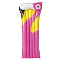 Bestway Tropical Bird Inflatable Lilo Pool Float Pink 1.83m x 76cm