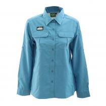 Ridgeline Basa UPF 50 Womens Long Sleeve Shirt Blue XS