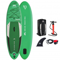 Aqua Marina Breeze All Around Stand Up Paddle Board Package 9ft 10in