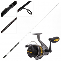 Fin-Nor Lethal 30 Megalite 762MFS Soft Bait Combo 7ft 6in 4-8kg 2pc