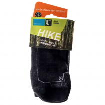 Icebreaker Merino Hike+ Heavy Crew Mens Socks Jet Heather M