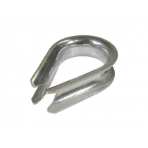 BLA Pressed Stainless Steel Thimbles 8mm Heavy Duty Qty 1