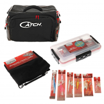 Catch 5 Compartment Tackle Shoulder Bag with Tackle
