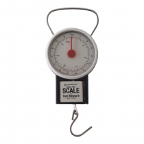 Campmaster Clock Spring Scale 32kg with Measuring Tape 1m