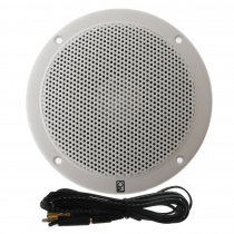Poly-planar MA1000RW 5'' VHF Extension Speakers Flush Mount
