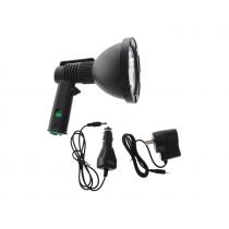 Night Saber Handheld Rechargeable LED Spotlight 10W 810 Lumens